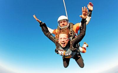 """Marta Molińska – Skydiving – """"A co, jak się nie otworzy?"""""""
